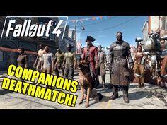 FALLOUT 4 ALL COMPANIONS / FOLLOWERS DEATHMATCH - NPC Battle To The Death #10 - YouTube