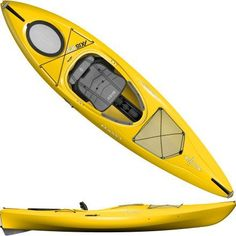 Bring emotion into your trip with Emotion Glide Kayak, that will astound you with it's efficiency and storage space capability. It is more than 14 feet long, giving you the speed you want and the space for your camping gear that you need for multi-days traveling, because of the dual tank wells with cargo net lacing and the two hatches.