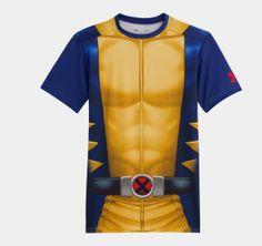 Men's Under Armour® Alter Ego X-Men Compression Short Sleeve - Wolverine