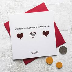 personalised valentine's scratch card by thispaperbook   notonthehighstreet.com