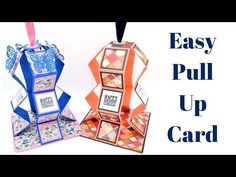 Hello everyone, I hope you had a lovely weekend and managed to squeeze in some crafting. I had fun creating these rather spectacular Pull Up Cards. I first saw this style posted by a lovely talente…