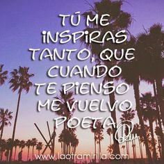 Tú me inspiras... | Disfrutar de tu tiempo libre es facilisimo.com