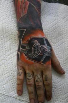 Star war tattoo