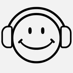 Smile/Music // Smiley aux écouteurs