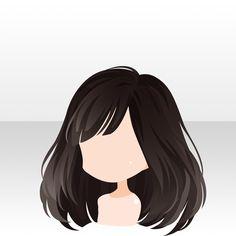 甘いショコラで思いを伝えよう♪ガチャ@セルフィ「シュクレ♥ショコラ」登場! Anime Girl Hairstyles, Character Inspiration, Character Design, Chibi Hair, Pelo Anime, Cartoon Hair, Hair Sketch, Fantasy Hair, Hair Reference