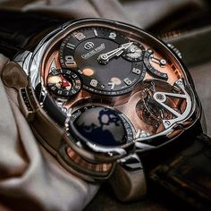 The mouthwatering Machanical Masterpiece Greubel Forsey GMT 5N with a Red Gold dial... @greubelforsey #watches #watchporn #watchesofinstagram #watchoftheday #watchgeek #watchaddict #wristwatch #clock #horology #lux #luxurylife #luxurious #luxurylifestyle #luxurywatch #luxurywatches #luxurybrand #brand #brandname #timepiece #jewelry #jewellery #finejewelry #exquisite #unique #instagood #tourbillon #swiss #greubelforsey by viconthecoast