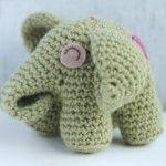 elefantino uncinetto pattern amigurumi schema