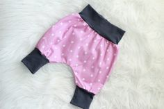 Lilac Cross Baby Harem Pants by BlessedBlindSheep on Etsy