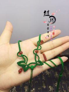 青藤项链绳教程