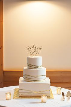 Baker: Sweet Sensations /  Photo: @nadraphotograph. See more ideas at www.realmaineweddings.com!