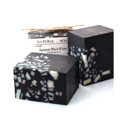 Tokyo Factory | Japanese Black Kimono This soap contains Takesumi which means…
