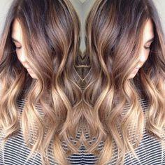 ombre-balayage-peinados-con-ondulado de cabello largo-2017-largo-pelo-color-inspiración