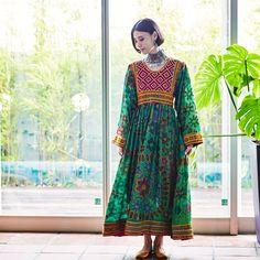 マライカ | アフガニスタン古布ドレス B | ファッション,民族衣装