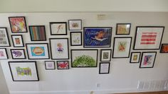 Trapped In North Jersey: anxiety rearranging: the gallery wall in the hallway