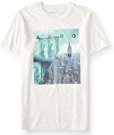 80215b2340 Aero New York Cityscape Graphic Tee