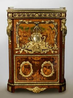 "Display | ""Reproducing the 18th Century: Copying French Furniture,"" The Wallace Collection, London (10 March — 29 August 2014). Image: Secretaire, Pierre-Antoine Foullet, c.1777 (London: The Wallace Collection)."