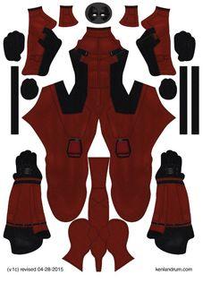 Deadpool Movie pattern by Ken Landrum ( V.1c)