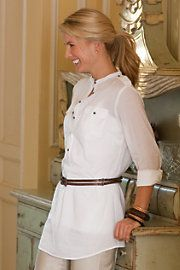 I love white shirts