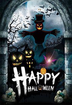 Halloween Backdrops 3x5FT Lantern Background Photography Studio Costume id