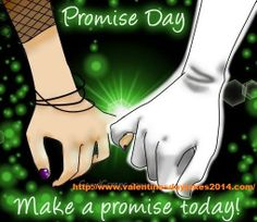 valentine week promise day sms