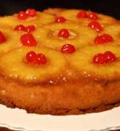 Ananaslı kek