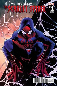 The Fan-Favorite Character Goes Solo on April 26th! New York, NY—March 31st, 2017 — This April, one of the most controversial characters in Marvel history returns to don the mask (and hoodie!) once more. Today, Marvel is pleased to present your first look inside BEN REILLY: THE SCARLET SPIDER... Ben Reilly, Ben Reilly: The Scarlet Spider, Greg Land, J. Scott Campbell, Mark Bagley, Peter David, Scarlet Spider, The Scarlet Spider, TOM LYLE