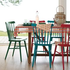 Tucker Chair – Turquoise - fun colors