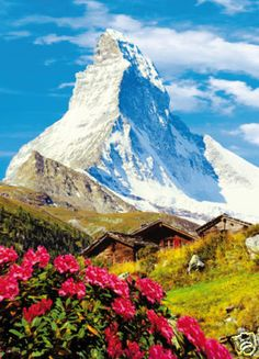 Tapeten Fototapete MATTERHORN Alpen Berge Berg Schnee | eBay