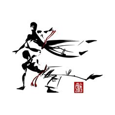 Illustration : Capoeira – 463 [ #capoeira #vectoriel #illustration]