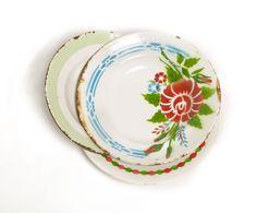 platos antiguos pintados