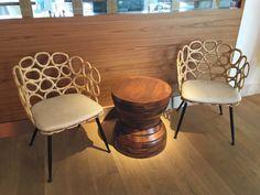Eggshell Home - Pasea Hotel Spa Beach Modern Wood and Rattan Chairs