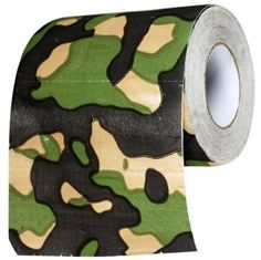 For blending in while camping: | 13 Novelty Toilet Paper Rolls You Can (Should, Really)Own