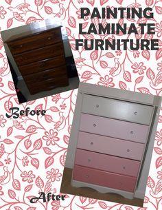 Planning for Little Baby Legg: Dresser Painting Tutorial