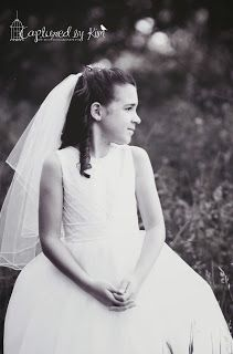 First Communion pictures are starting to be some of my favorites. It's the closest I'll get to doing bridal pictures :) #firstcommunion #capturedbykimphotography  Captured by Kim Photography