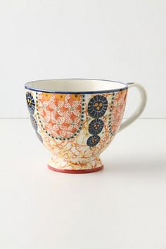 Kebaya Mug - Perfect for my someday collection of thoughtfully mismatched and eclectic mugs.
