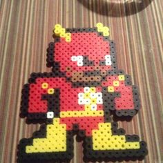 Flash perler beads by pokemonpages