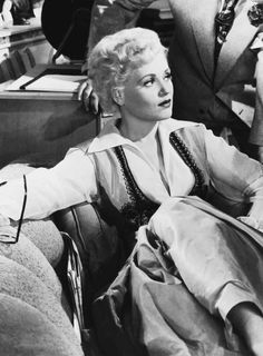 "hollywoodlady: "" Judy Holliday in Born Yesterday, 1950 """
