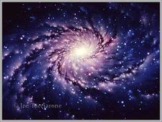 Our Galaxy, the Milky Way. One of those shiny stars on the outside of band 4, is the sun. Ponder that :) Wow!!! I'm always amazed.