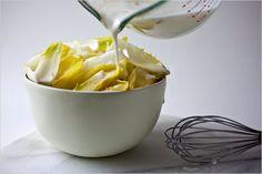 Creamy Meyer Lemon Dressing Recipe - Can sub lemon zest for lemon-scented oil. Healthy Recipes, Vegetarian Recipes, Snack Recipes, Lemon Dressing Recipes, Verde Recipe, Recipe Box, Meyer Lemon Recipes, Lemon Pasta, Recipe Filing