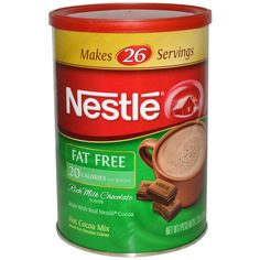 Nestle Hot Cocoa Mix, Rich Milk Chocolate Flavor, Fat Free, 7.33 oz (208 g) - iHerb.com