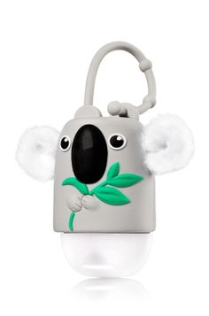 This cute Koala holds onto to your favorite PocketBac in an epic hug! The adjustable strap attaches to your backpack, purse and more so you can always keep your favorite sanitizer close at hand. Bath N Body Works, Bath And Body, Hand Sanitizer Holder, Kids Makeup, Glossy Makeup, Craft Box, Perfume, Smell Good, Girls Accessories