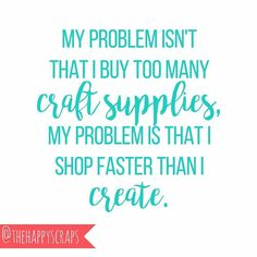 Anyone else have this problem!?? @thehappyscraps