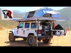 Overland Jeep Wrangler Walk Around - YouTube