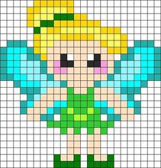 Tinker Bell Pixel Art