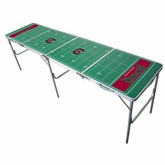 Gamecocks Tailgate Pong Table - $129.99  // hmm, doesn't look quite wide enough for ping pong, so that only leaves one other kind of pong...