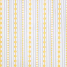 Kimberly Lewis Home - Striped Wallpaper, Roll, Canary - Like raindrops on roses.