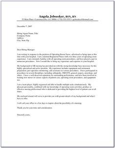 Registered Nurse Cover Letter Examples Formal Business Letter Format, Business Letter Example, Business Proposal Letter, Business Letter Template, Great Cover Letter Examples, Great Cover Letters, Writing A Cover Letter, Nursing Cover Letter, Sample Resume Cover Letter