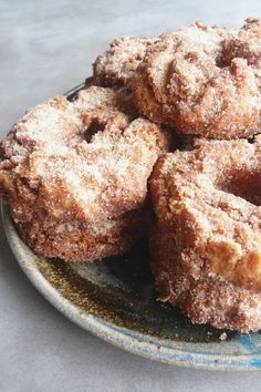 Apple Orchard Cider Doughnuts | Baking Blond