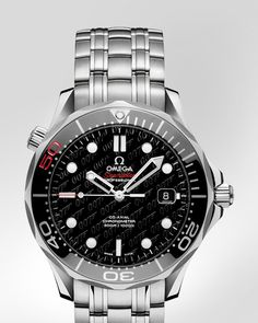 OMEGA Watches: Seamaster Diver 300 M Co-Axial 41 mm - Steel on steel - 212.30.41.20.01.005