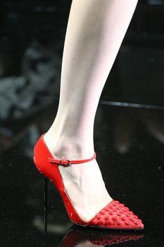 shoes @ Armani Privé Fall 2014 Couture